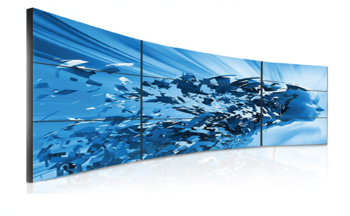 digital wall display by ClearTouch Media