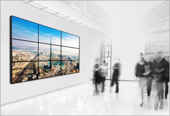 indoor digital billboard by ClearTouch Media